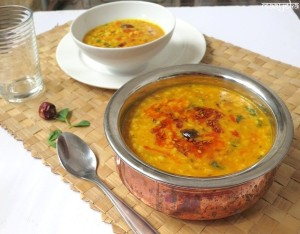 Punjabi Daal Tadka (Mixed Lentils cooked the Punjabi way)
