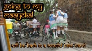 Going to my Maayeka!