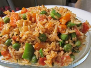 Tawa Pulao ,Stir fried Vegetable Pilaf