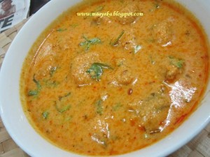 Mangochi ki Sabzi /Moong Daal Kofta Curry