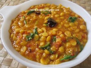 Chana Daal Fry (Bengal Gram Fry)