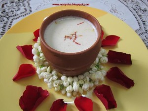 How to make Thandai, Kesariya Thandai