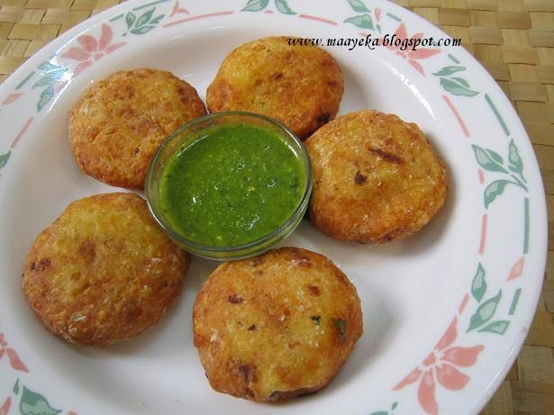 aloo nariyal ki patties