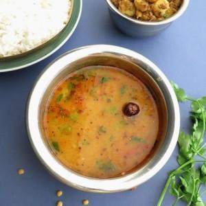 Tuvar daal Uttar Pradesh Style / Pigeon Peas cooked the Uttar Pradesh way