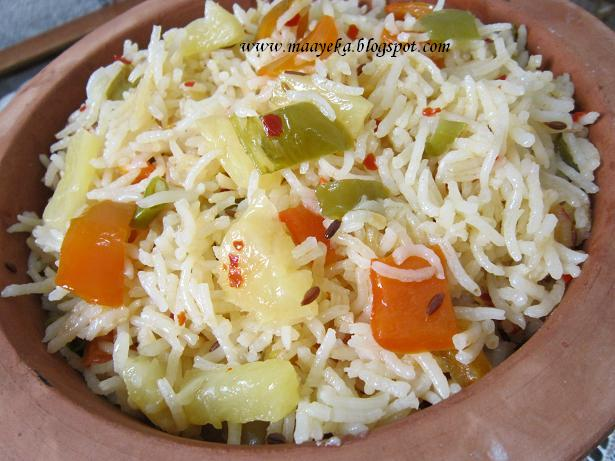 chilli pineapple rice recipe
