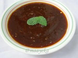 Khajoor aur Imli ki chutney (Sweet Chutney, Meethi chutney)