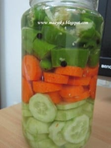 Turkish Vegetable Pickle