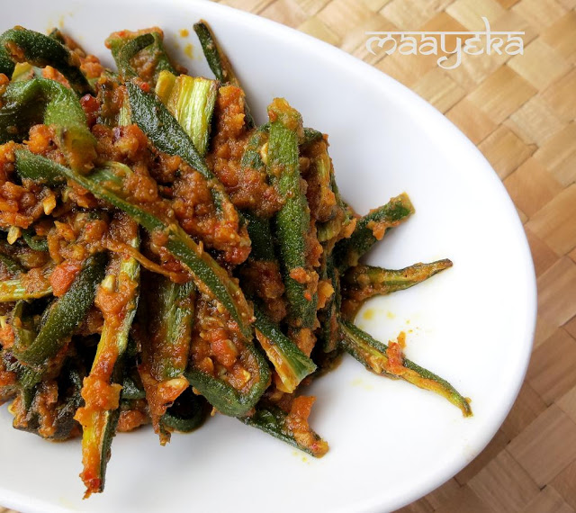 hyderabadi masala bhindi
