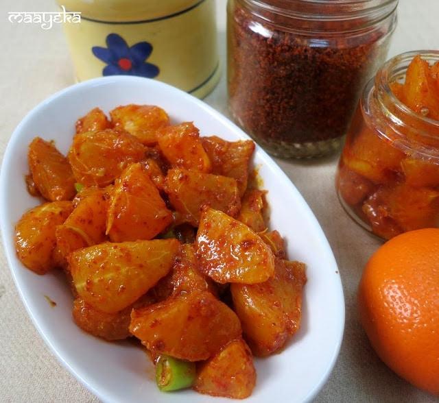 Instant Orange Pickle
