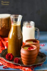 How to make Thandai, Kesariya Thandai Syrup, Thandai Concentrate