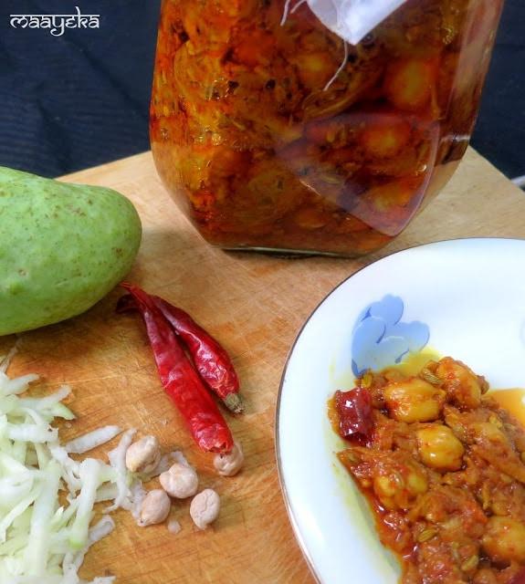 Rajasthan Mango Pickle, Aam aur Chane ka achar