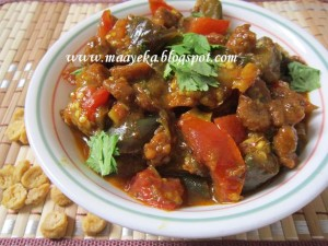Vadi Baigan /Brinjal Curry