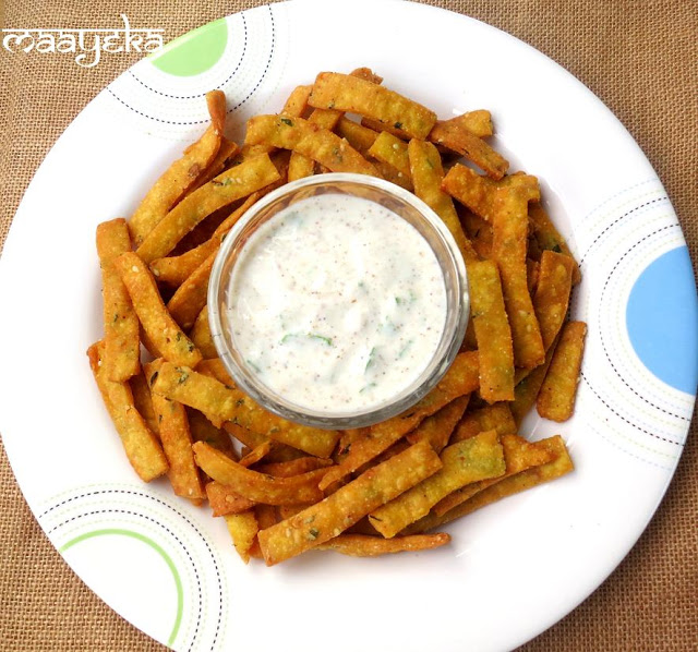 moong daal chips