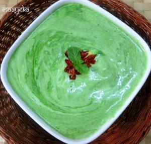 Palak Raita ,Spinach Dip