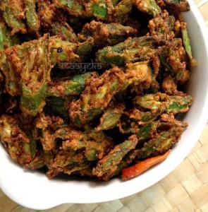 Bhindi Kurkuri ,Crispy Okra