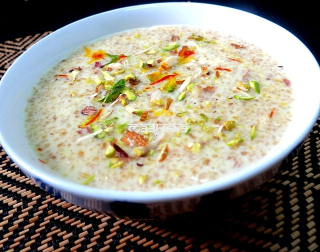 daoodh and daliya ki kheer
