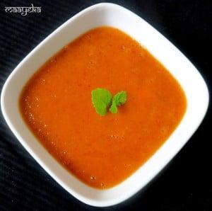 Instant Sweet Mango Chutney , Aam ki chutney