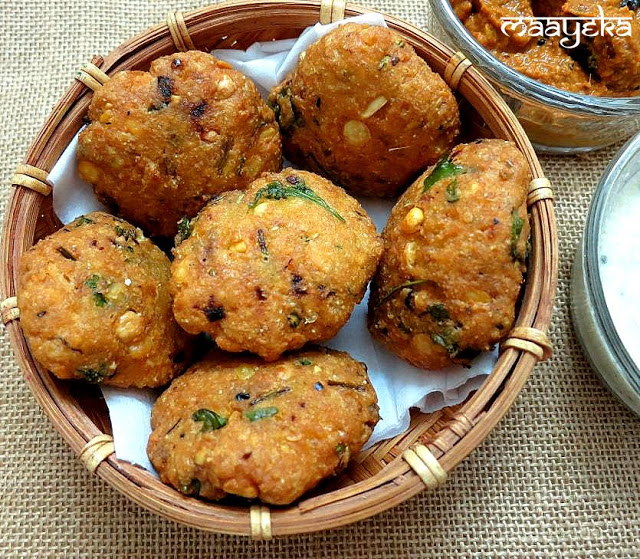 how to make south indian masala vada