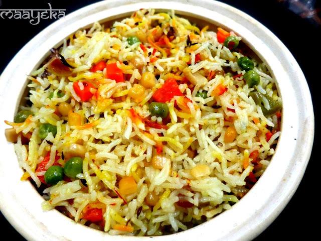 vegetable biryani pulao
