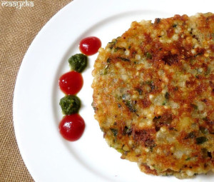 Sabudana Thalipeeth, Tapioca flatbread