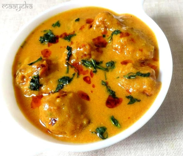 dahi kofta curry recipe