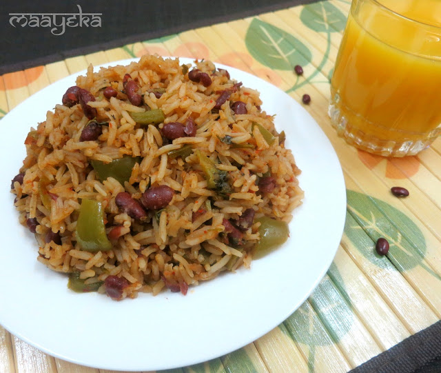 mexican chilli bean rice recipe