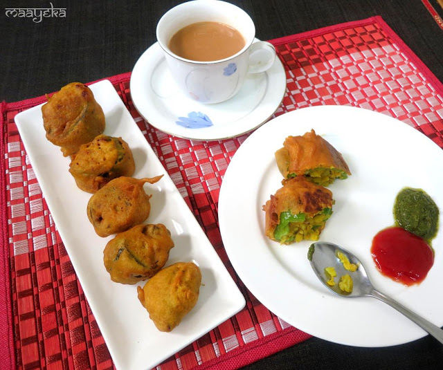 mirchi vada recipe