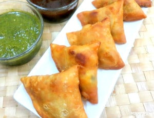 Cauliflower and Lentil Samosa ,Phoolgobhi and moong daal samosa
