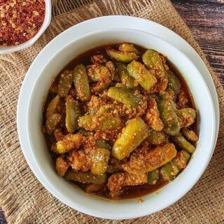 tindora pickle