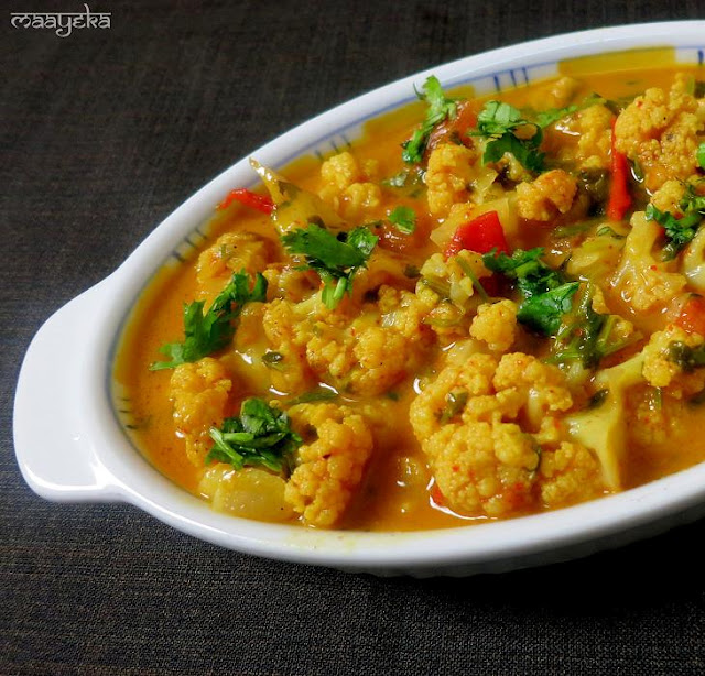 Indonesian Cauliflower Curry » Maayeka