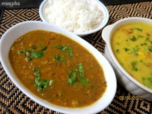 Sabut Moong Daal, Khatti Methi Moong, Sweet and Sour Mungo beans
