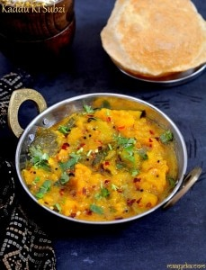 Khatta Meetha Kaddu Recipe