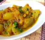 Kharbooj ki Sabzi , Rock Melon Curry