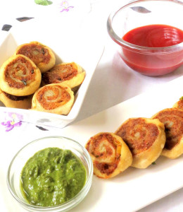 Potato bhakarvadi , Potato Spirals