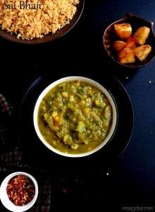 sindhi style sai bhaji recipe