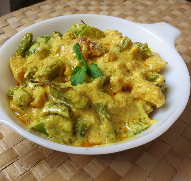 mughlai vegetable korma