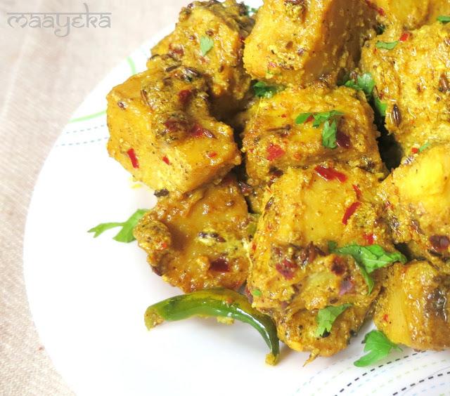 suran ki subzi, yam curry