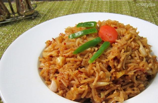 Sichuan kimchi rice