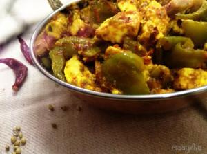 Kadhai Paneer /Pepper Paneer