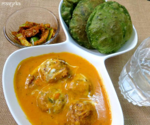 Lauki Kofta / Bottle Gourd Dumpling Curry