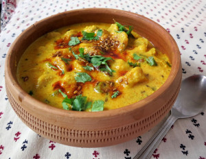Rajasthani Gatte Ki Sabzi,Gatta Curry Recipe
