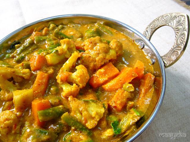 Vegetable Kolhapuri 187 Maayeka