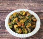 Aloo Methi Sabzi | Potato and Fenugreek Stir fry +Video