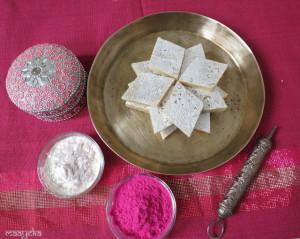 Kaju Barfi /Cashew Fudge