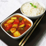 Sweet and Sour Paneer (Chili Paneer Manchurian)