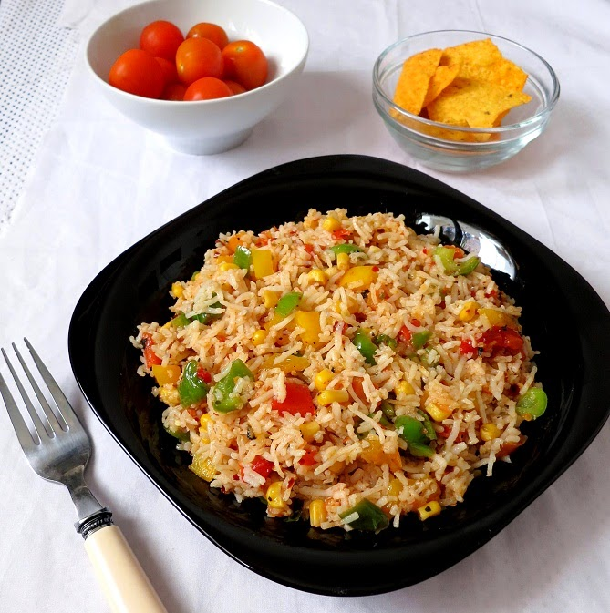 corn salsa rice