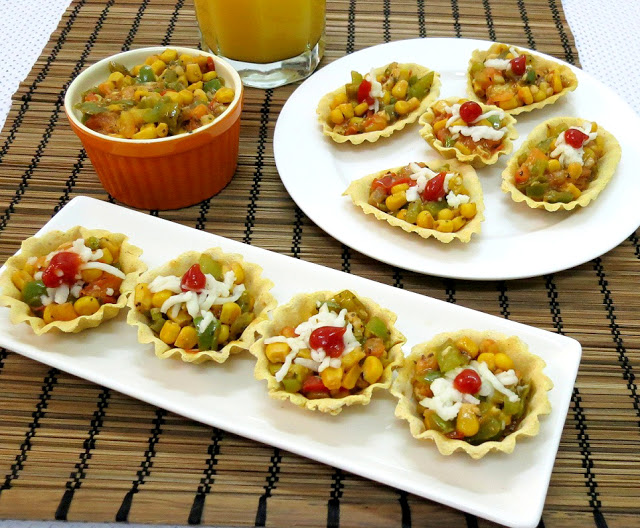 tangy savoury taco tarts