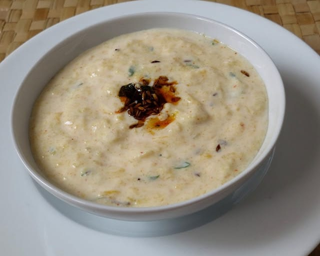 how to make kaddu ka raita