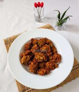 Crunchy Karela Pakora
