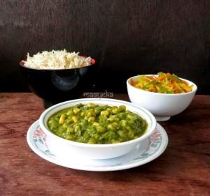 Spinach Corn Curry / Makai Palak